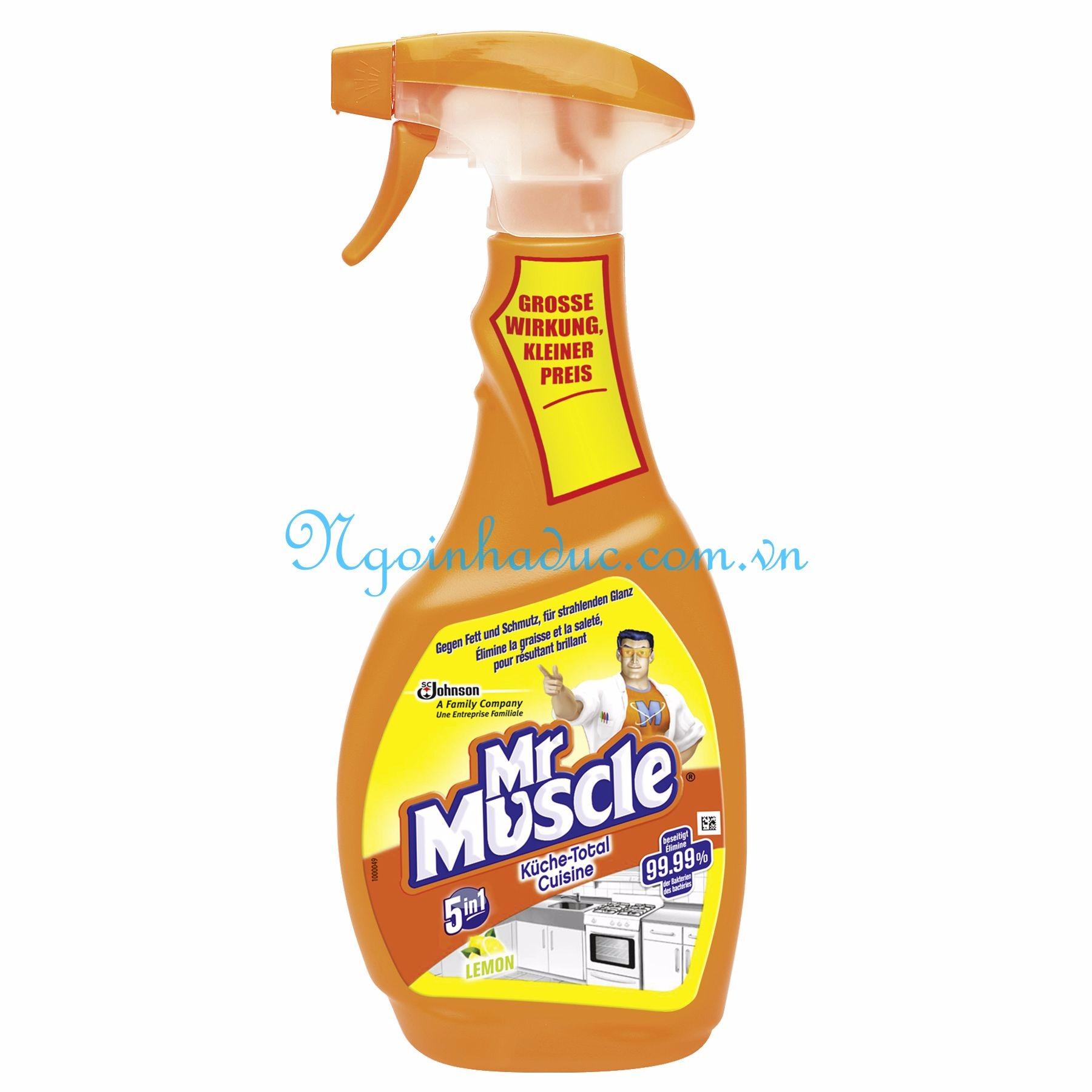Xịt Tẩy Bếp đa Năng Mr Muscle.