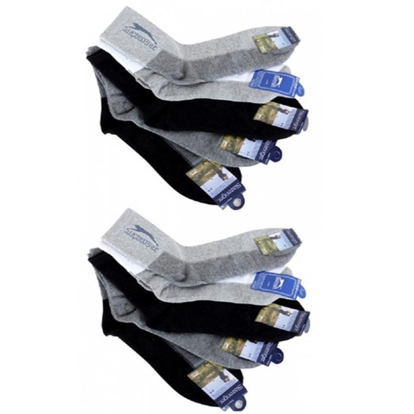 Bộ 1 đôi vớ nam cổ cao Slazenger Hàn Quốc