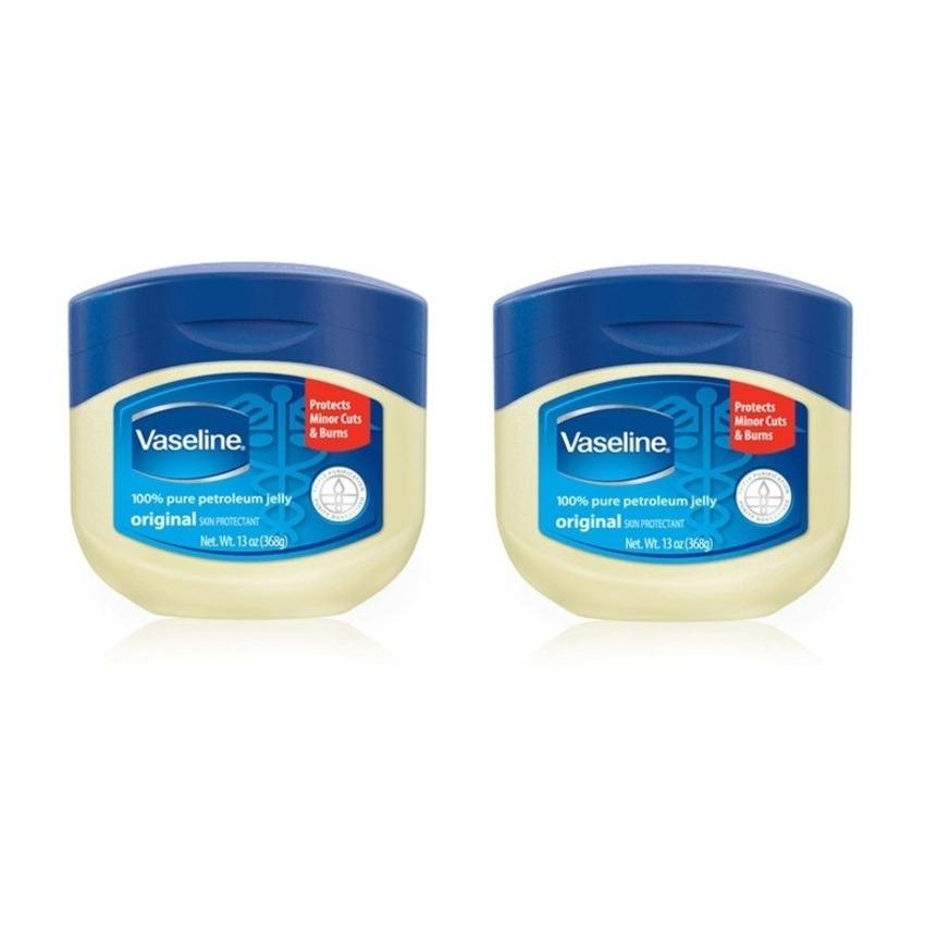 Bộ 2 hũ gel trị khô da Vaseline 2 x 49g
