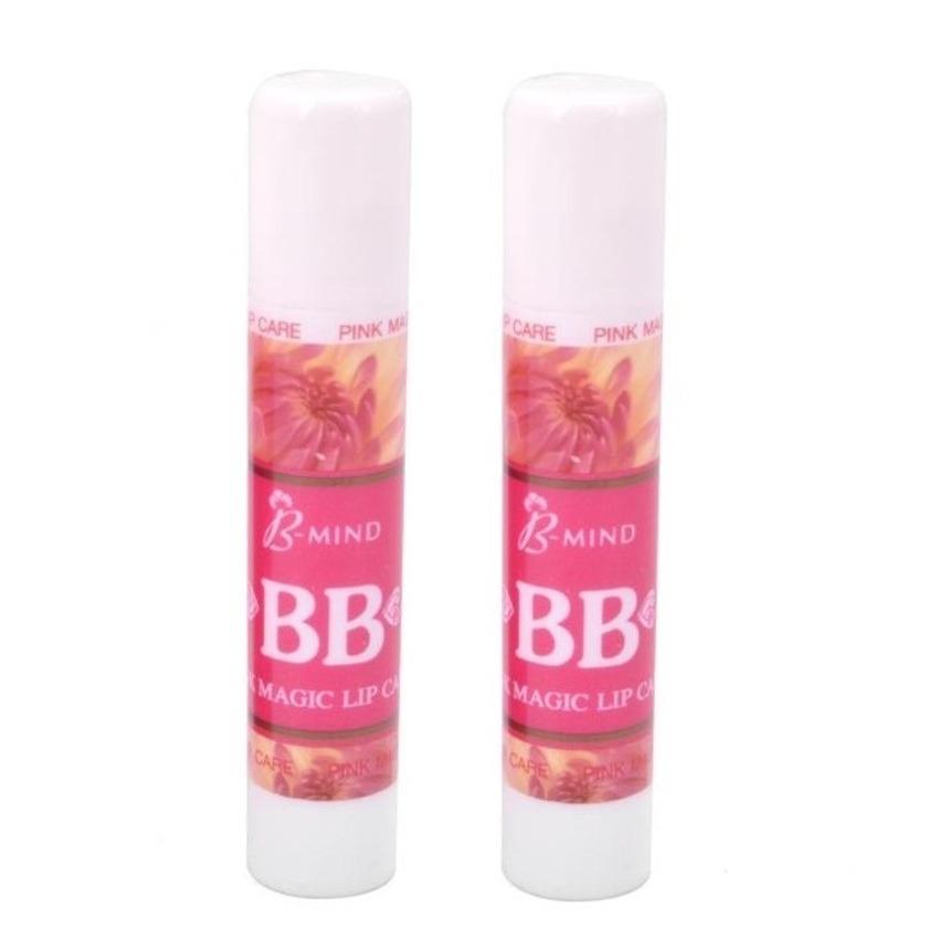 Bộ 2 son dưỡng môi BB Pink Magic Lip 2 x 3.5g