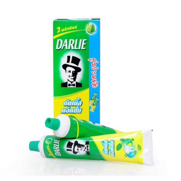 Hộp 2 tuýp kem đánh răng Darlie 180gr x 2