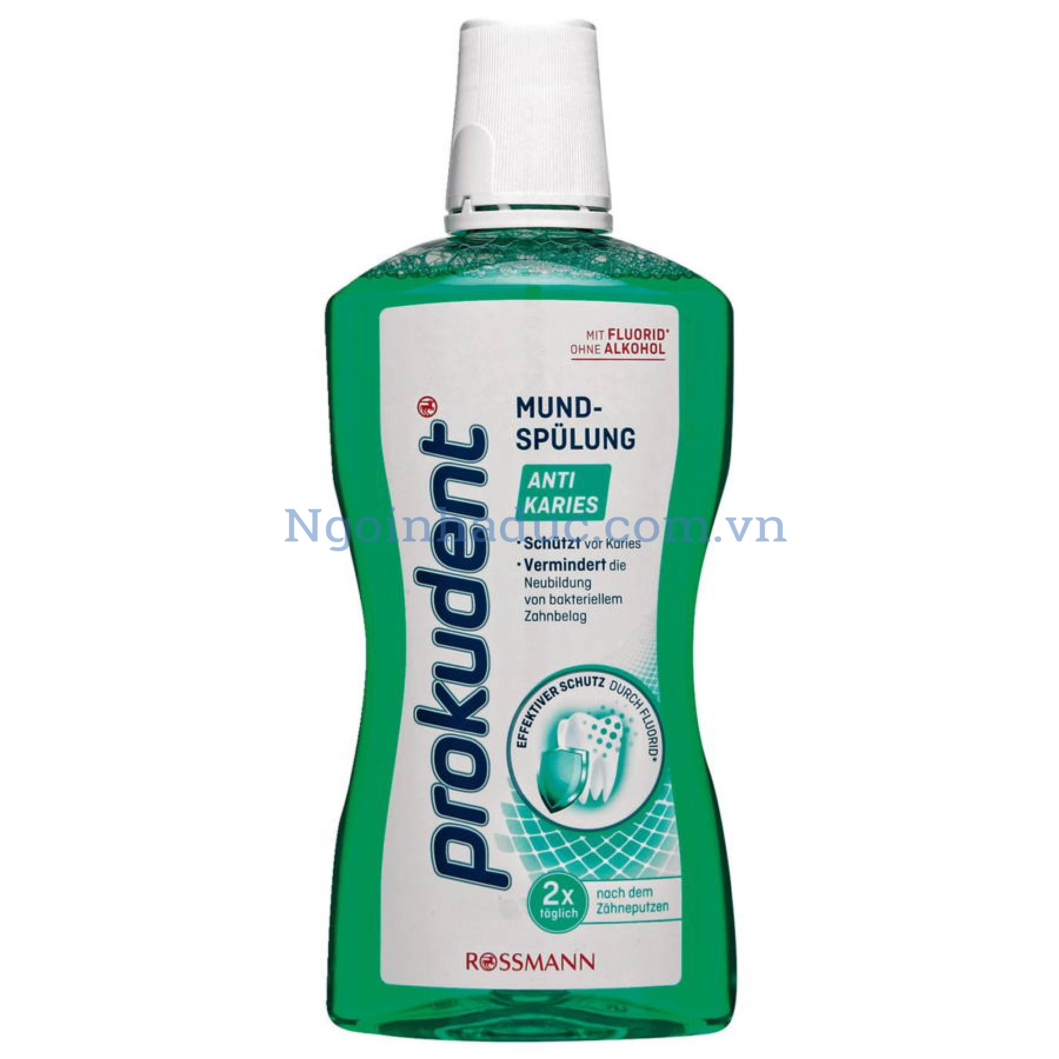 Nước súc miệng Prokudent Anti-Karies 500ml (Chống sâu răng)