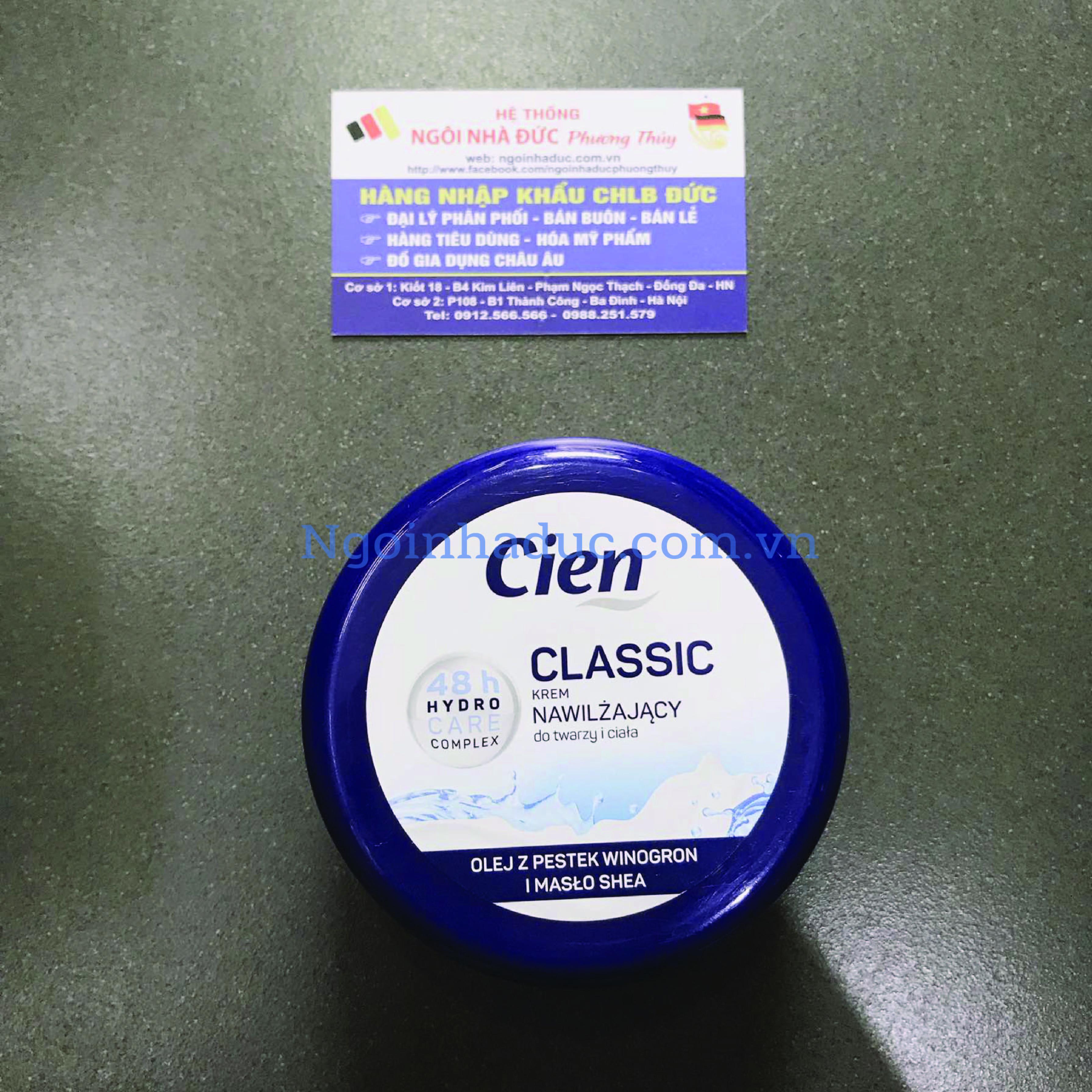 Kem dưỡng thể Cien Classic 48h (hộp 250ml)