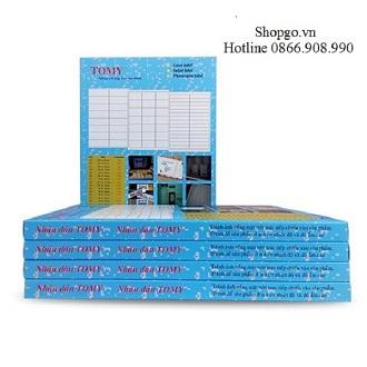 Giấy decal in tem Tomy A4 125 có lớp keo tự dính (100 tờ/hộp)