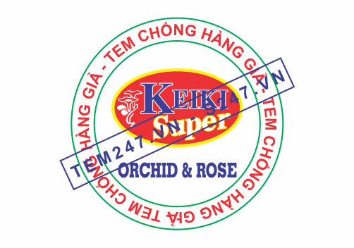 MS030 - Tem Keiki kích cỡ 1.5x1.5