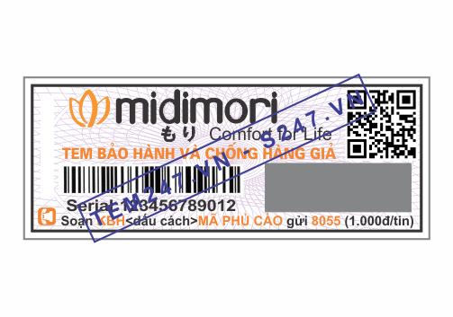 MS041 - Tem Midimori kích cỡ 1.8x4