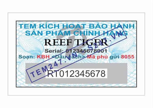 MS053 - Tem Reef Tiger kích cỡ 1.5x3