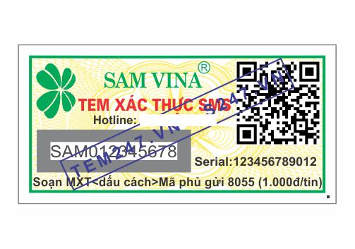 MS054 - Tem Samvina kích cỡ 1.5x3