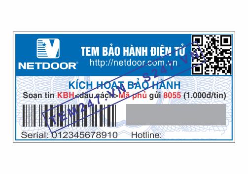 MS046 - Tem Net Door kích cỡ 2x4