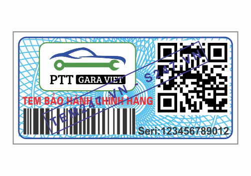 MS050 - Tem Ptt Gara Việt kích cỡ 1.5x3