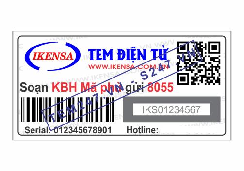 MS028 - Tem Ikensa kích cỡ 2x4