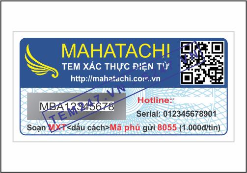 MS038 - Tem Mahatachi kích cỡ 2x4