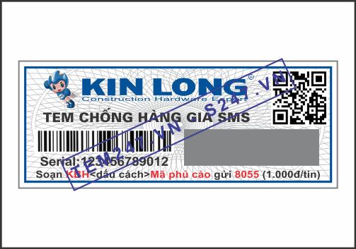 MS033 - Tem Kin Long kích cỡ 2x5