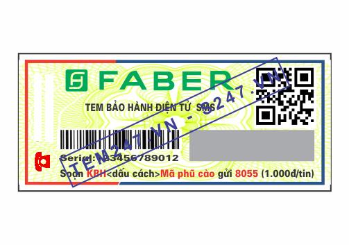 MS020 - Tem Faber kích cỡ 2x5