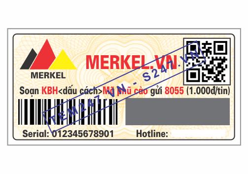 MS040 - Tem Merkel kích cỡ 2x4