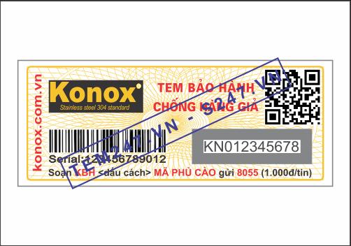 MS036 - Tem Konox kích cỡ 2x5