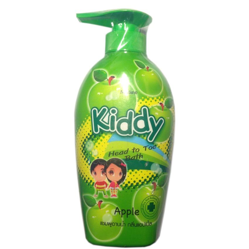 Sữa tắm gội toàn thân cho trẻ em chiết xuất táo Mistine Kiddy 400ml