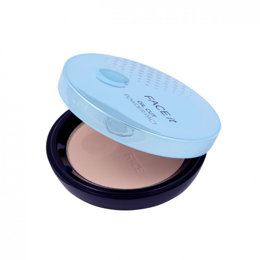 Phấn phủ- THEFACESHOP Face It Oil Cut Powder Pact