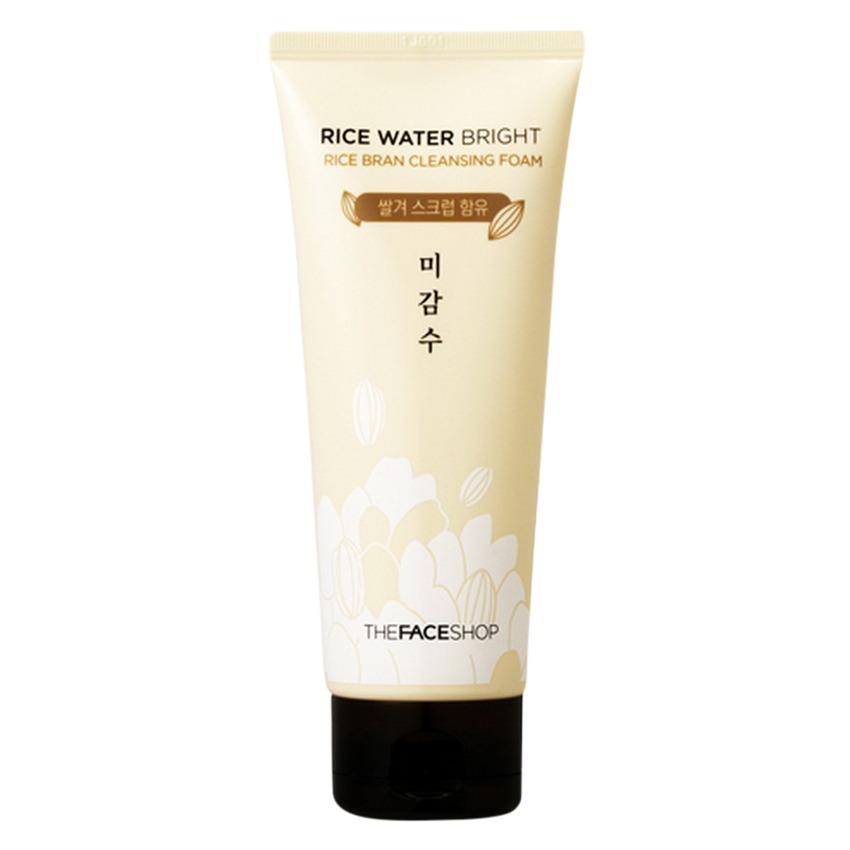 Sữa rửa mặt làm sáng da The Face Shop Rice Water Bright Rice Cleansing Foam 150ml