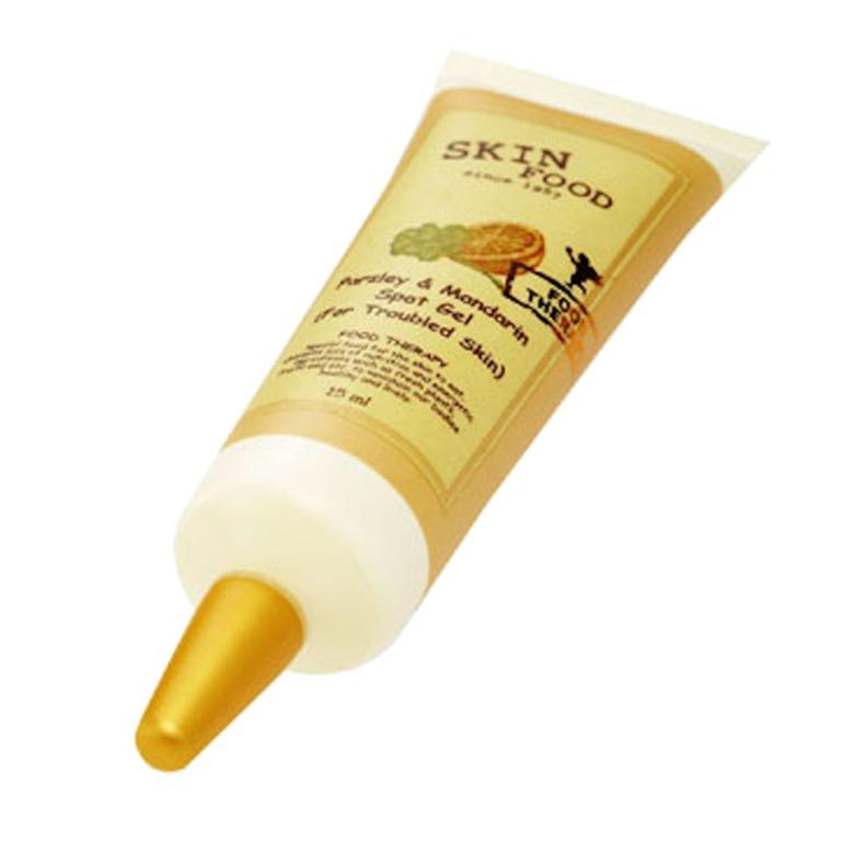 Gel trị mụn Skinfood Parsley Mandarin Spot 15ml