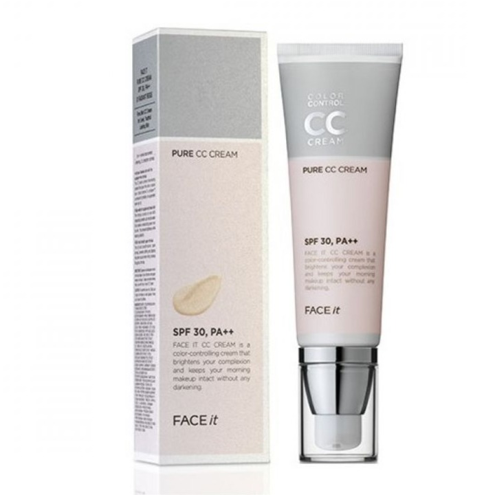 Kem nền The Faceshop Pure CC Cream 40ml