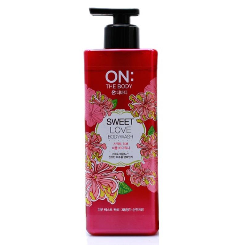 Sữa tắm ON THE BODY Perfume Sweet Love Body Wash 900ml