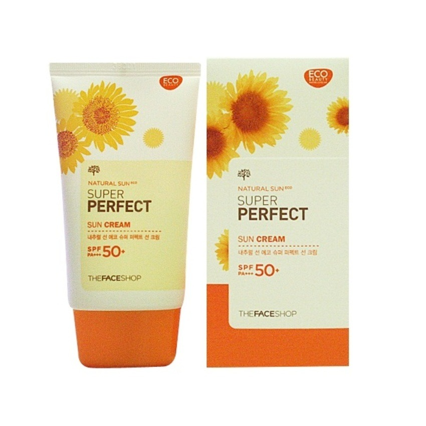 Kem chống nắng THE FACESHOP Super Perfect Sun Cream SPF 50 PA+++ 50ml