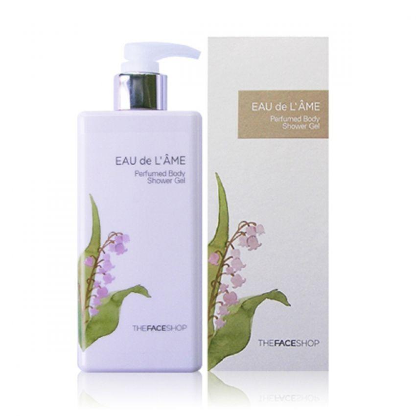 Sữa dưỡng trắng da toàn thân THEFACESHOP Eau De L'ame Perfumed Body Milk 230ml