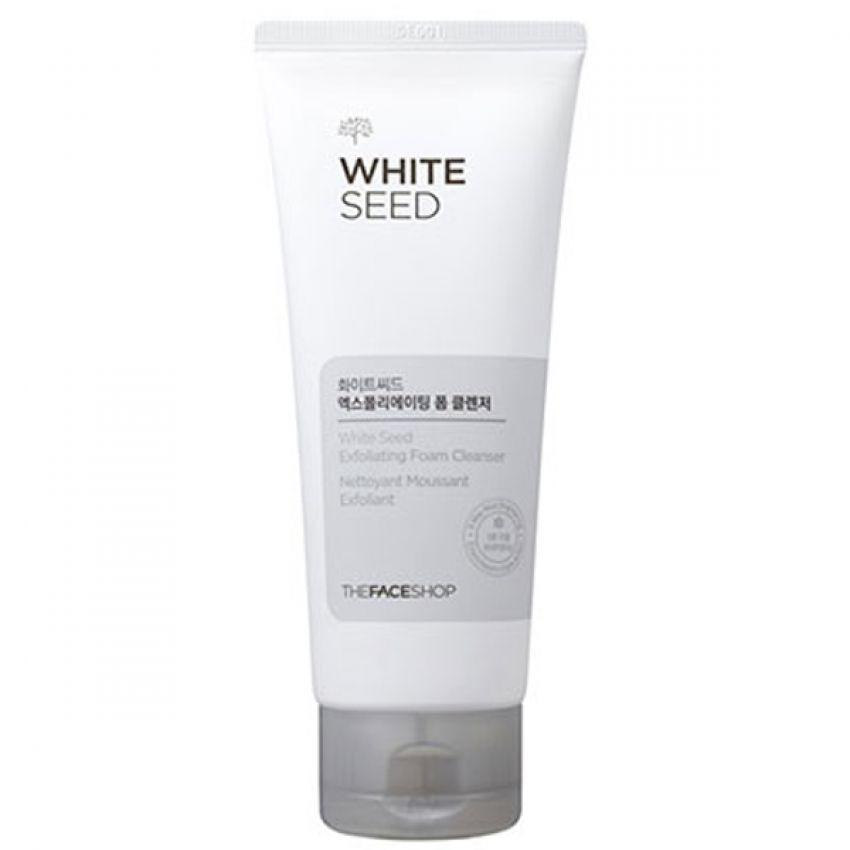 Sữa rửa mặt trắng da- The Face Shop White Seed Exfoliating Foam Cleanser 140ml