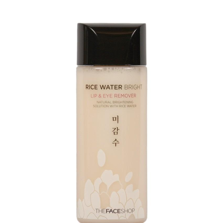 Dung dịch tẩy trang vùng mắt và môi THE FACESHOP Rice Water Bright Lip & Eye Remover 120ml