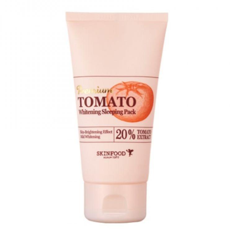 Skinfood Premium Tomato Whitening Sleeping Pack 100g Mặt nạ ngủ dưỡng trắng
