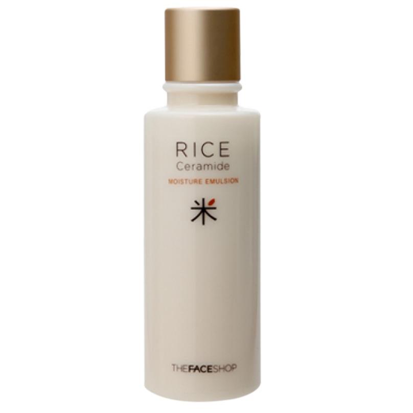 Sữa dưỡng trắng da- THEFACESHOP Rice & Ceramide Moisture Emulsion 150ml