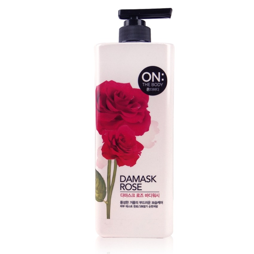Sữa tắm On The Body Damask Rose 500g