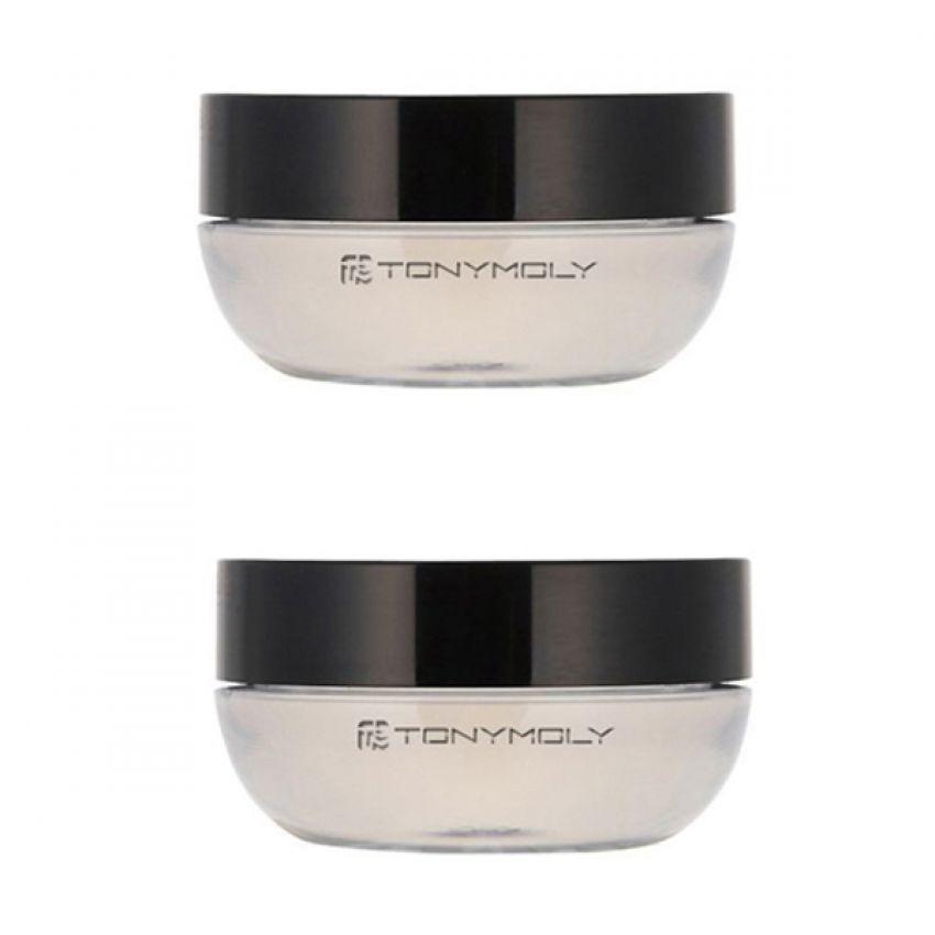 Bộ 2 hũ son môi Tonymoly Delight Magic Lip Tint Straw Berry 7g (Trong suốt)
