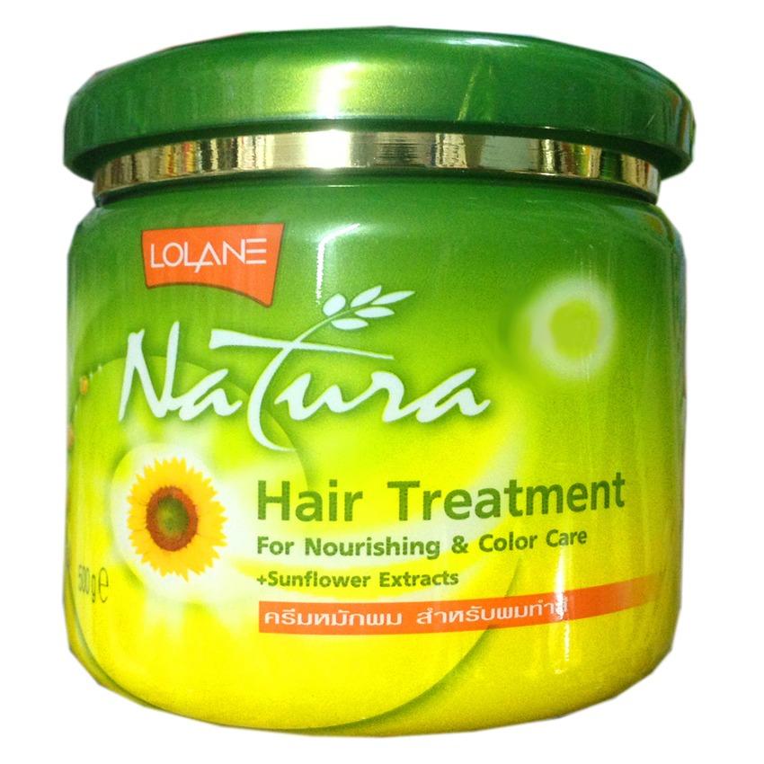 Kem Ủ tóc lạnh Lolane Natura Tinh Chất hoa Hướng Dương Thái Lan 250ml