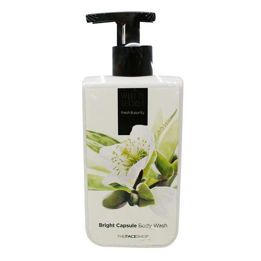 Sữa tắm dưỡng trắng da- THEFACESHOP White Secret Bright Capsule Body Wash 300ml