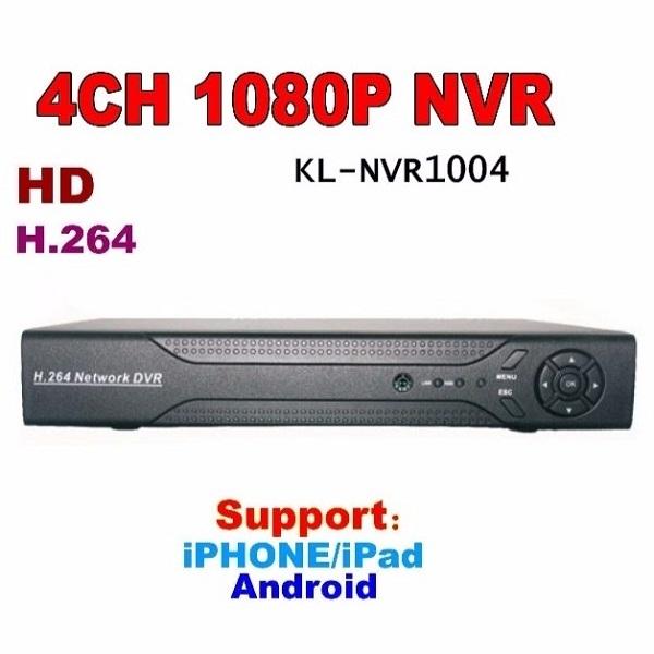HD NVR-1004N - Đầu ghi 4 kênh IP