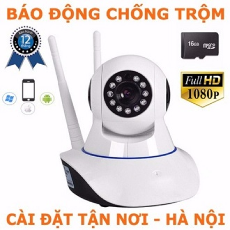 Camera IP (HD-1080) YooSee Wifi và 3G + KM thẻ 16G Class 10
